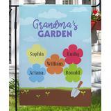 GiftsForYouNow Garden Flags - Light Blue 'Garden' Personalized Outdoor Flag