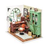 Flash Popup DIY Jimmy's Studio Dollhouse, Size 5.9 H in   Wayfair DGM07