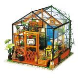 Flash Popup DIY Cathy's Flower Dollhouse, Size 6.9 H in   Wayfair DG104