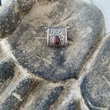Free People Jewelry   Free People Ear Cuff   Color: Red/Silver   Size: Os