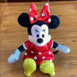 Disney Toys   5 For $35. Minnie Mouse Plush Toy.   Color: Black/Red   Size: ~9 Long