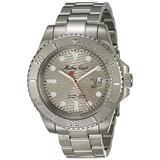 MATTHEY-TISSOT Men's Quartz Stainless Steel Strap, Silver, 20 Casual Watch (Model: H906ZAS)