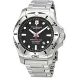 I.n.o.x. Professional Diver Black Dial Watch - Metallic - Victorinox Watches