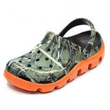 Classic Clog for Women Men,Real Need Camo Clogs Pivoting Straps Can Be Mules,A Mojo Clog As Water Shoes (Rio Tree, Numeric_9)