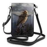 Crossbody Cell Phone Purse Evil Owl Small Crossbody Bags Women Pu Shoulder Bag Handbag