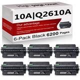 6 Pack Compatible 10A | Q2610A Toner Cartridge Replacement for HP Laserjet 2300 Printer 2300n 2300d 2300dtn Printer 2300L Printer 2300dn Printer Toner Cartridge.