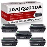 5 Pack Compatible 10A | Q2610A Toner Cartridge Replacement for HP Laserjet 2300 Printer 2300n 2300d 2300dtn Printer 2300L Printer 2300dn Printer Toner Cartridge.