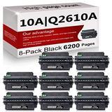 8 Pack Compatible 10A | Q2610A Toner Cartridge Replacement for HP Laserjet 2300 Printer 2300n 2300d 2300dtn Printer 2300L Printer 2300dn Printer Toner Cartridge.