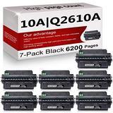 7 Pack Compatible 10A | Q2610A Toner Cartridge Replacement for HP Laserjet 2300 Printer 2300n 2300d 2300dtn Printer 2300L Printer 2300dn Printer Toner Cartridge.