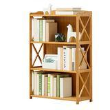 JXSHQS Solid Wood Bookshelf Simple Multi-Layer Book Sundries Lockers Children Students Bookcase Lockers Display Cabinet (Size : A)
