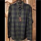 Michael Kors Shirts   Michael Kors Men Green Long Sleeve Shirt Medium   Color: Green   Size: M