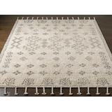 "Lebeau 2'6"" x 4' Moroccan Farmhouse Handmade Cotton Area Rug - Hauteloom"