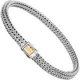 Women's Classic Chain Hammered Bracelet Bz96184xm - Metallic - John Hardy Bracelets