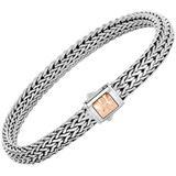 Women's Classic Chain Hammered Bz96185rxm - Gray - John Hardy Bracelets