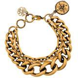 Double-chain Bracelet - Metallic - Alexander McQueen Bracelets
