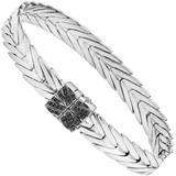 Women's Silver Bracelet With Sapphire, Bbs932704blsbnxm - Black - John Hardy Bracelets