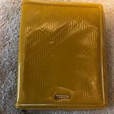 Burberry Other | Burberry Tablet Ipad Zip Closure Case | Color: Gray/Yellow | Size: Os