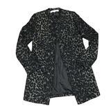 J. Crew Jackets & Coats | Kenneth Cole Leo Print Jacket | Color: Black/Gray | Size: 6