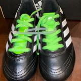 Adidas Shoes | Boys Soccer Gear | Color: Black/Green/White | Size: 11b