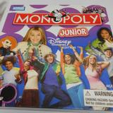 Disney Toys   Disney Edition Monopoly Junior Board Game X Pieces   Color: Blue/Red   Size: Osg