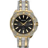 Solar Dress Two-tone Stainless Steel Bracelet Watch 45mm - Metallic - Seiko Watches