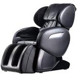 Massage Chair Zero Gravity Full Body Electric Shiatsu Massage Chair Recliner with Foot Rollers Built-in Heat Therapy Air Massage System Stretch Vibrating for Home Office