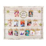 My First Year Picture Frame | 12 Month Picture Frame | Watch Me Grow Baby Picture Frame | Baby Milestone Photo Frame | Monthly Baby Pictures | Baby Photo Frame| Babys First Year Picture Frame |