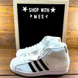 Adidas Shoes | Adidas Pro Model Kids Shoes | Color: Black/White | Size: Various