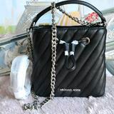 Michael Kors Bags | Michael Kors Suri Small Bucket Crossbody Bag | Color: Black | Size: Os