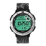 10 ATM Waterproof Sports Watch Pedometer for Men Boys Scuba Diving Watch with Lap Stopwatch and Alarm Clock Function, 12/24 Hour Format Selectable