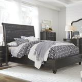 Canora Grey Tamsin Solid Wood Standard Configurable Bedroom Set Wood in Brown, Size Queen | Wayfair 0AF547ABD4F5475CABEA08CAFA491007