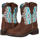 Fatbaby Heritage Twill - Brown - Ariat Boots