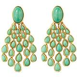 Cherokee Earrings - Green - Aurelie Bidermann Earrings