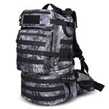 Danoensit 50L Waterproof Tactical Backpack Assault Military Rucksacks Backpack Camping Hunting Bag Python Black