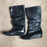 Converse Shoes   Converse Slouch Leather Boots   Color: Black   Size: 7