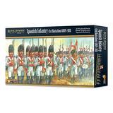 WarLord Black Powder Spanish Infantry 1st Battalion 1805-1811 19th Century Military Wargaming Plastic Model Kit 302411501