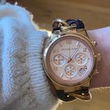 Michael Kors Jewelry | Michael Kors Womens Quartz Watch | Color: Gold | Size: Os