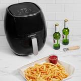 Chefman 8 Quart TurboFry Touch Air Fryer w/Digital Display Plastic in Black, Size 16.02 H x 14.37 W x 14.37 D in | Wayfair RJ38-WD-8T