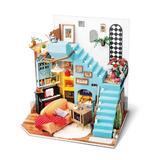 Flash Popup DIY Joy's Livingroom Dollhouse, Size 9.0 H in   Wayfair DG141