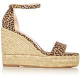 Floria Wedge Platform Espadrille Sandals - Natural - Stuart Weitzman Heels