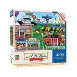 Masterpieces Puzzles - A. M. Poulin All's Fair 1000-Piece Puzzle