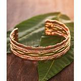 HPSilver Women's Bracelets Copper - Copper & Brass Twist Cuff