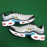 Nike Shoes | Nike Air Max Plus Sz 6y New Womens Sz 7.5 Silver | Color: Red/Silver | Size: 7.5