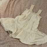 American Eagle Outfitters Dresses   Cream Babydoll Dress   Color: Cream   Size: M