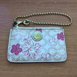 Coach Accessories   Coach Card Holder***   Color: Cream/Pink   Size: Os