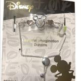 Disney Jewelry | Disney Charm Bracelet Mickey Mouse Laughter | Color: Silver | Size: Os