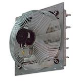 """TPI CE12DS 12"""" Shutter Mounted Exhaust Fan - Direct Drive, 120v"""