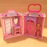 Disney Toys | Aurora House Purse Folding Playset Disney Princess | Color: Pink/Purple | Size: 8-9 Inches