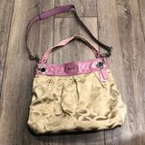 Coach Bags | Coach Madison Op Art Hippie Bag F14580 | Color: Pink/Tan | Size: Os