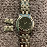 Gucci Accessories | Gucci G-Class 5500m 11p Diamonds Mens Quartz Watch | Color: Black/Silver | Size: Band 17 Cm With Two Additional Links